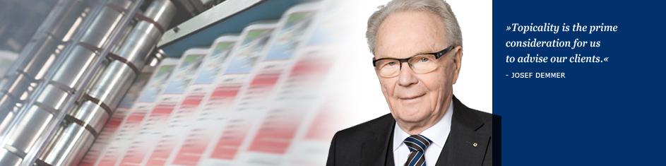 Wirtschaftsprüfer | Steuerberater | Josef Demmer | Köln